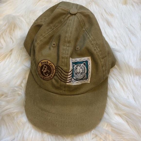 Busch Gardens Other - Busch Gardens Animal Tiger khaki color hat